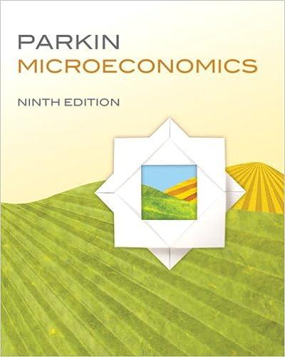 Microeconomics 9th edition 9780321592873 economics books microeconomics 9th edition 9th edition by michael parkin fandeluxe Choice Image