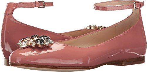 Lk Bennett Womens Ninon Dark Pink Soft Patent