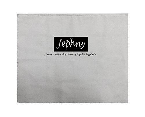 [해외]Jephny 720 평방 인치 프리미엄 연마 클리닝 쥬얼리, 실버, 골드, 플래티넘/Jephny 720 Sq inch Premium Polishing Cleaning Cloth for Jewelry,Silver, Gold, Platinum