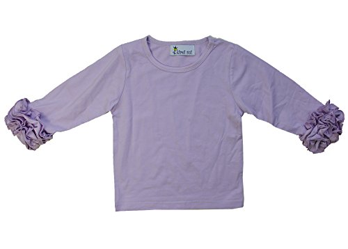 (Kirei Sui Girls Long Sleeve Icing T-Shirts 2T Lavender)