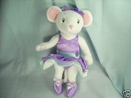 """14/"""" Sababa Toys ANGELINA BALLERINA Poseable Mouse Doll Plush Stuffed Animal Toy"""