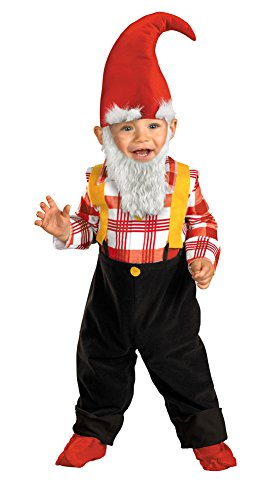 SALES4YA Baby-Toddler-Costume Garden Gnome Toddler Costume 2T Halloween Costume