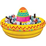Amscan Fiesta Sombrero Inflatable Cooler Birthday Party Supplies Decoration