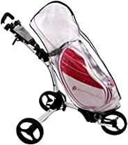 Golf Bag Cover Transparent Rainproof Waterproof Dustproof Made of PVC Material For Golf Lovers