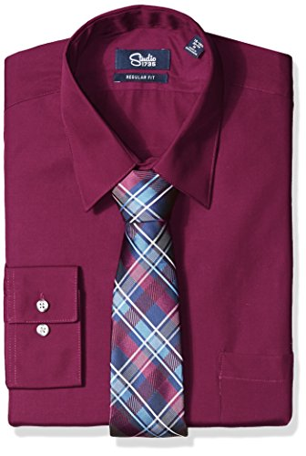 Studio 1735 men 39 s dress shirt combo with tie as low as for Dress shirts and tie combos sale