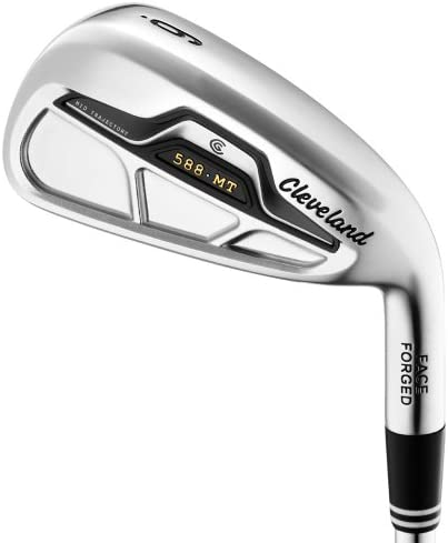 Cleveland Golfschläger 588, geschmiedetes Eisen 5 PW Stahl