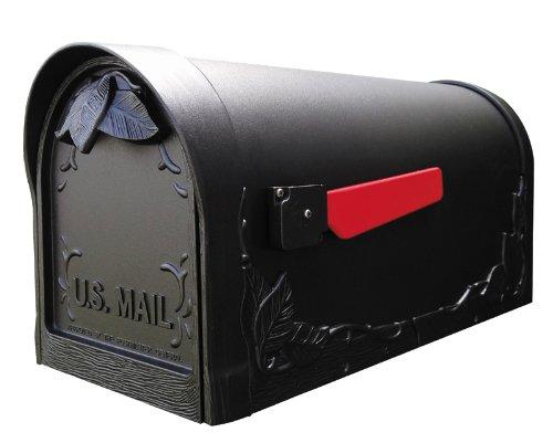 Floral SCF-1003-BLK Floral Curbside (Special Lite Floral Curbside Mailbox)