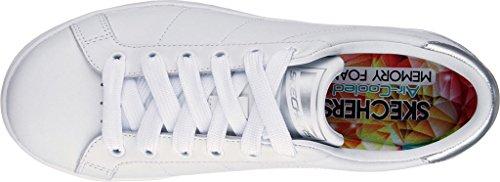 Skechers Street Mujeres Onix Fashion Sneaker Blanco