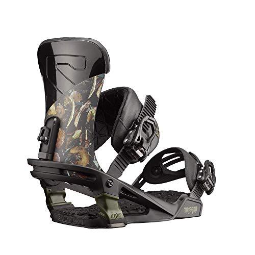 (Salomon Snowboards Trigger Snowboard Binding Camo, L)