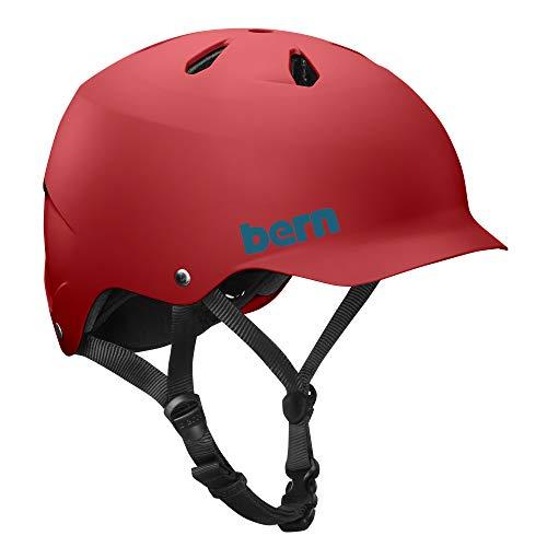 BERN - Summer Watts EPS Helmet, Matte Red, Small