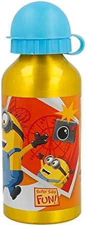 Stor Botella Aluminio 400 ML | Minions Fun Land