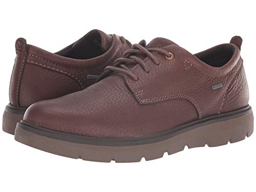 CLARKS Un Map Lo GTX Mens Oxfords Dark Brown Leather 9 ()