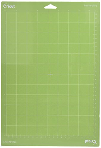 Cricut StandardGrip Adhesive Cutting Mat for Crafting, 8.5 by 12-Inch by Cricut