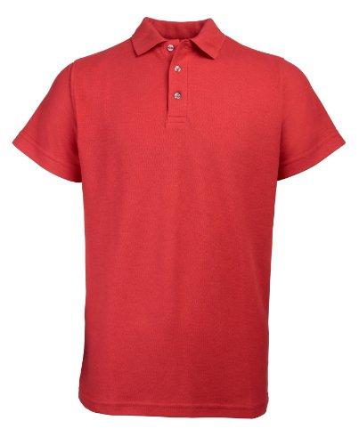 RTY Workwear Arbeitskleidung Heavyweight polo Rot 9XL