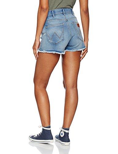 Wrangler Short Blue Fading Shorts Light Donna Vintage Blu Pq5PCwr0