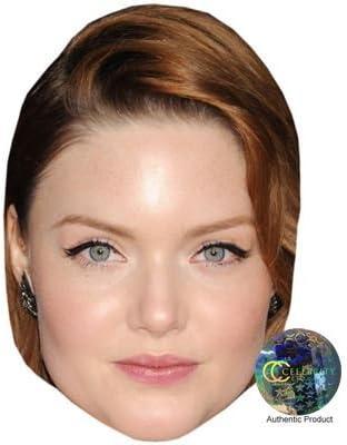 Card Face and Fancy Dress Mask Holliday Grainger Celebrity Mask
