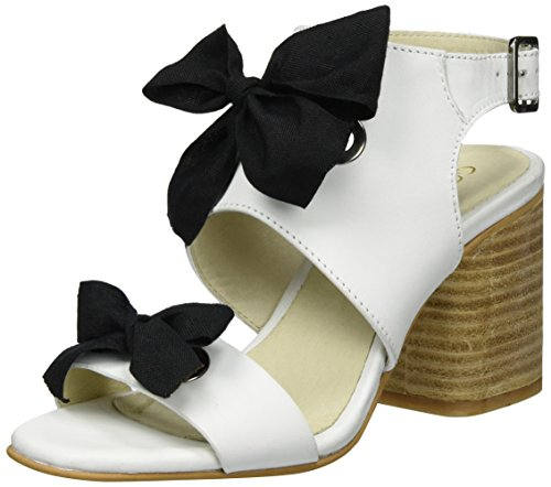 Atlanta Open Dani Toe Women's Weiß Sandals Goldmud White Summer A0xBzF
