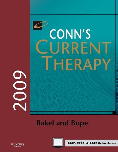 Conn's Current Therapy 2009: Expert Consult - Online and Print, 1e by Robert E. Rakel MD (2009-01-02) pdf