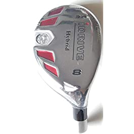 New Integra I-Drive Hybrid Golf Club #8-34° Right-Handed With Graphite Shaft, U Pick Flex