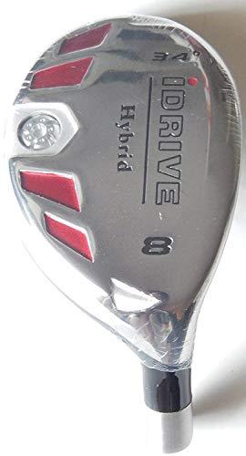 New Integra I-Drive Hybrid Golf Club 8-34 Right-Handed With Graphite Shaft, U Pick Flex
