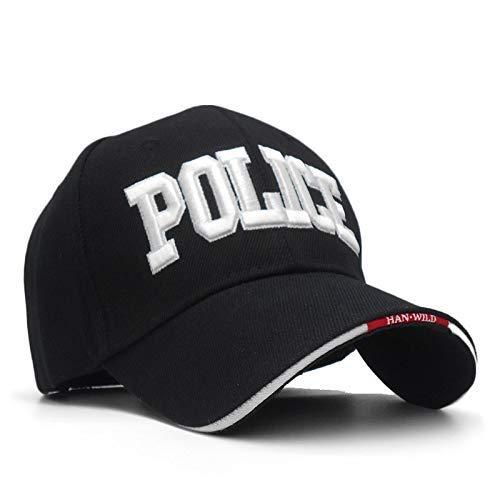 GCCI Ocio Gorra de béisbol Sombrero de la policía Sombreros Gorras ...
