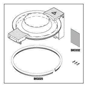 Top Cover Assembly BKK019 by Replacement Parts Industries RPI
