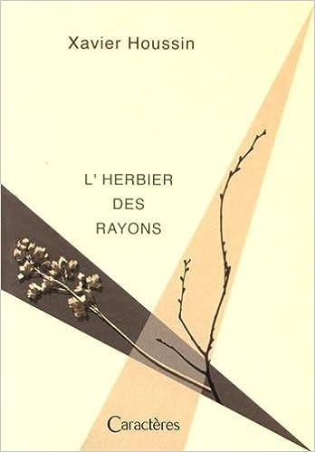 Book L'herbier des rayons