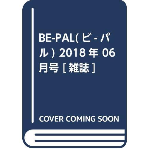 BE-PAL 2018年6月号 画像 A