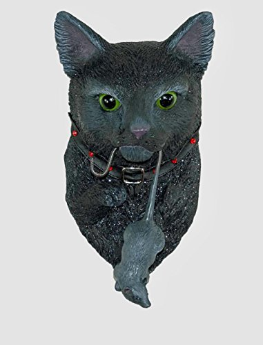 Katherine's Collection black cat door knocker rat Halloween Dead and -