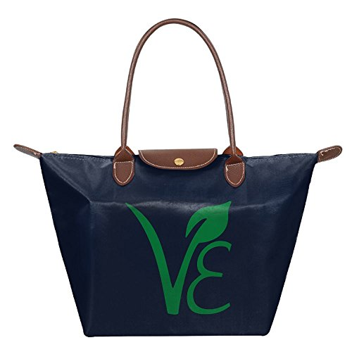 Longchamp Collocational Vegetarian Logo Tote Bag Hobo - Sunglasses With Logo R