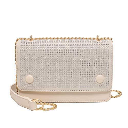 - KLGDA Women's New Shoulder Bag Fashion Small Square Bag Wild Chain Messenger Bag