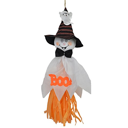856store Clearance Sale Halloween Hanging Ghost Pumpkin Decoration for Home Kindergarten Haunted House ()