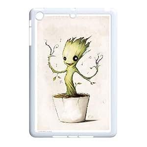 LSQDIY(R) groot guardian iPad Mini Hard Back Case, Personalized iPad Mini Case groot guardian