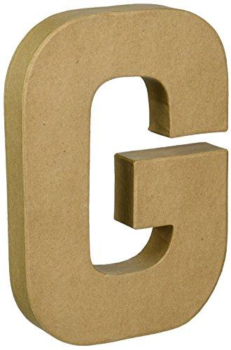 Basic Glitter Paper (Darice Paper Mache Letter 8