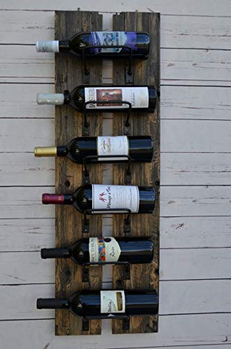 Reclaimed Railway wine rack
