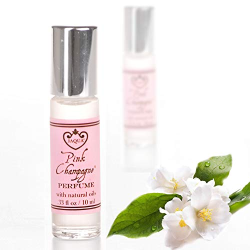 Roll on Perfume for Women - Pink Champagne by Jaqua