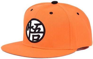 QETUOAD Goku Sombrero Drogon Ball Z Snapback Hip Hop Cap Bordado ...