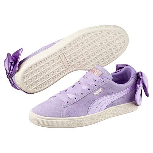 Puma Bow Suede Calzado W Rose Purple qBSx1wq