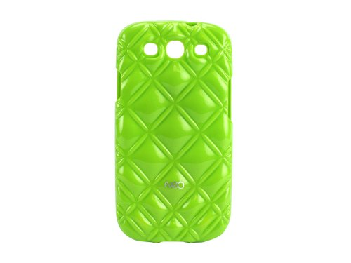 Cellet Neo Royal Case for Samsung Galaxy S3 - Lime Green (Case Lime S3 Samsung Green Galaxy)