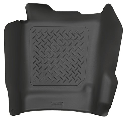 Husky Liners Center Hump Floor Liner Fits 14-17 Silverado/Sierra Crew/Double