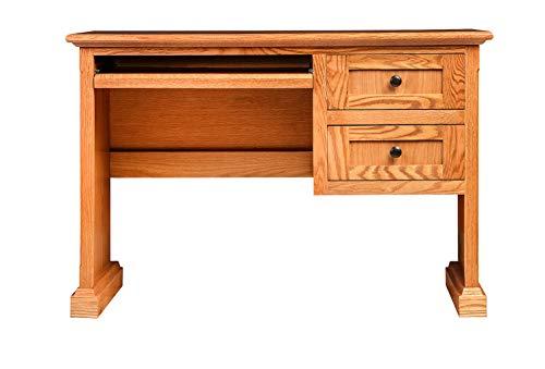 Forest Designs HFF-1011-M Computer Desk 44w x 30h x 18d Golden ()