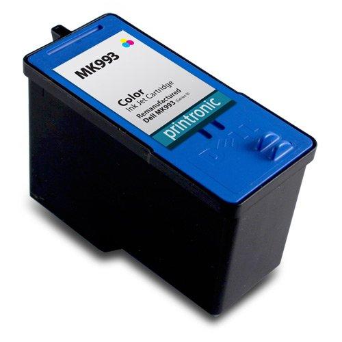 Printronic Remanufactured Dell Series 9 Ink Cartridge Color MK993 for Dell V305 Dell V305w Dell 926 Inkjet Printers
