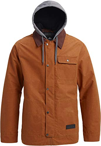 Burton Men's Dunmore Jacket, Adobe Waxed, Medium