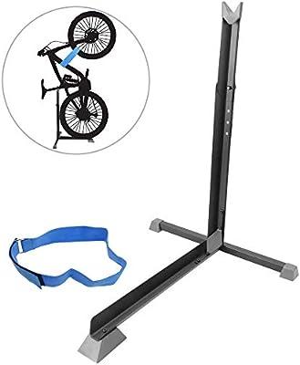 PrimeMatik Storage rack bike bicycle stand for vertical parking