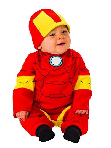 Rubie's Baby's Marvel Iron Man Romper, Infant (6-12 Months) -