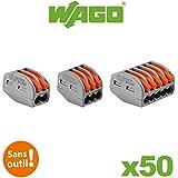 Wago - Valisette 50 bornes pour fils souples et rigides WAGO