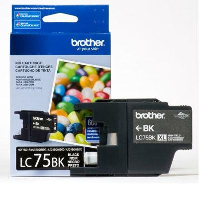 brother toner lc75bk - 7