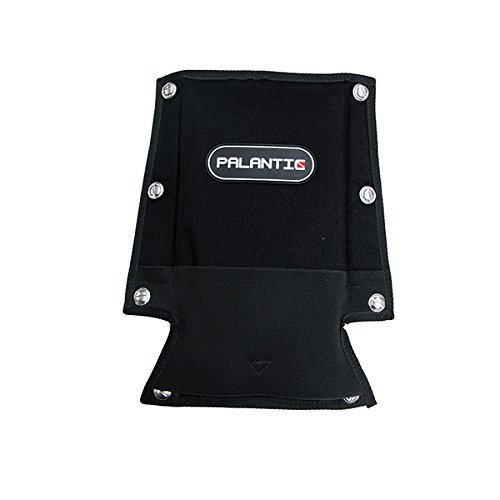 Palantic Tech Diving Back Support Backplate Pad with Book Screws for Harness