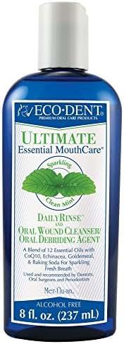 Premium Oral Care Ultimate Daily Rinse Mint Eco-Dent 8 oz Liquid