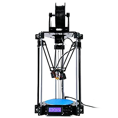 2016 Newest Reprap Delta 3D Printer Rostock Mini Pro 3 D Print DIY KIT High Accuracy